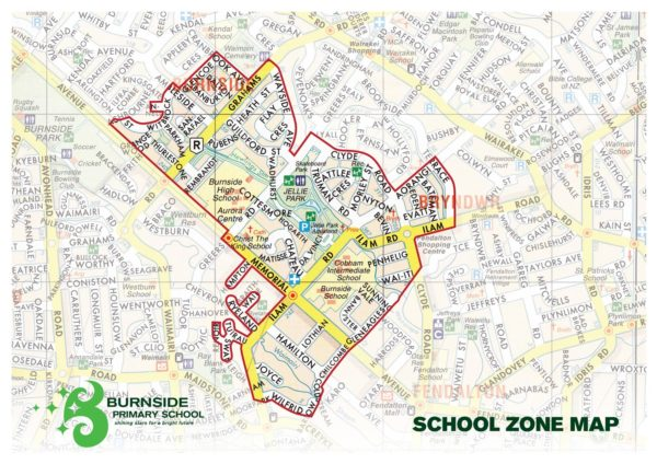 Enrolment Zone Map